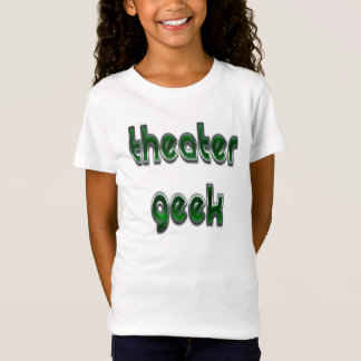 Camiseta Verde del friki del teatro