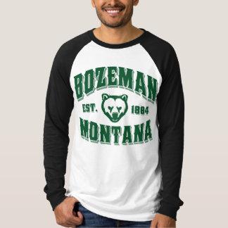 Camiseta Verde del oso 1884 de Bozeman