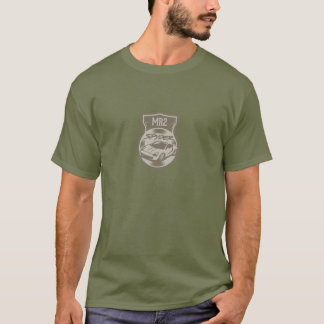 Camiseta verde del spyder mr2 en verde