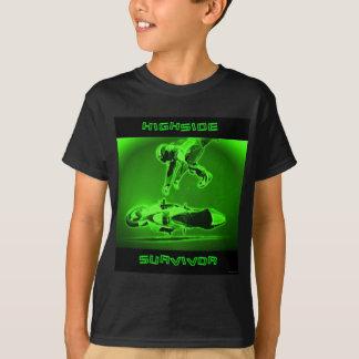 Camiseta Verde del superviviente de Highside