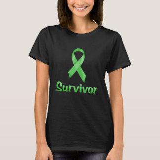 Camiseta Verde del superviviente del cáncer