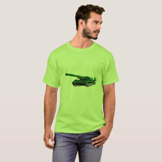 Camiseta verde del tanque para los hombres