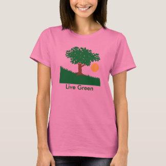 Camiseta Verde vivo