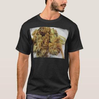 Camiseta Verduras crujientes empanadas y fritas con el