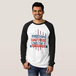 Camiseta Veterano de los E.E.U.U. - la libertad no está