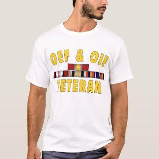 Camiseta Veterano de OEF y de OIF - logotipo delantero