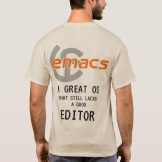 Camiseta VI contra Emacs