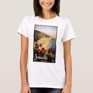 Camiseta Viaje Amalfi Italia del vintage
