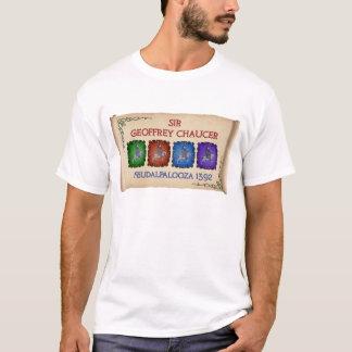 "Camiseta Viaje de Chaucer ""Feudalpalooza"" 1392 (la luz de"