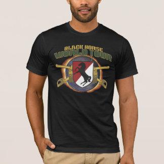 Camiseta VIAJE del MUNDO del CABALLO de la CABALLERÍA