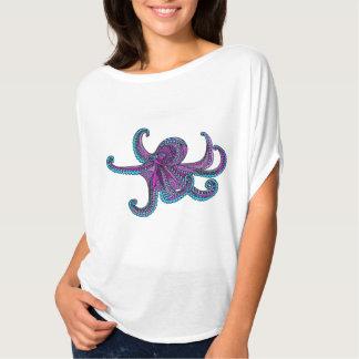 Camiseta Vida marina púrpura del océano del trullo del