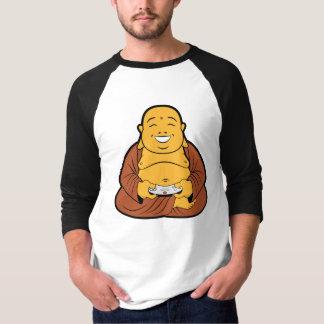 Camiseta videojugador de Buda