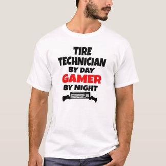 Camiseta Videojugador del técnico del neumático