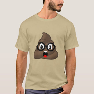 Camiseta Vidrios sorprendidos Emoji del impulso