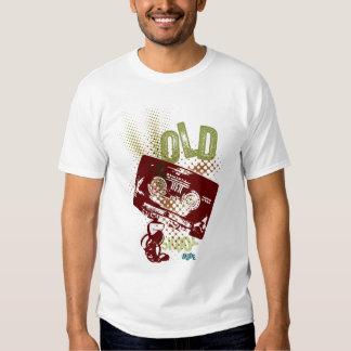 Camiseta vieja del casete de Scool