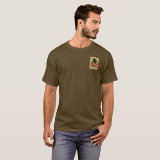 Camiseta Vieja etiqueta del vintage de la ginebra de Tom