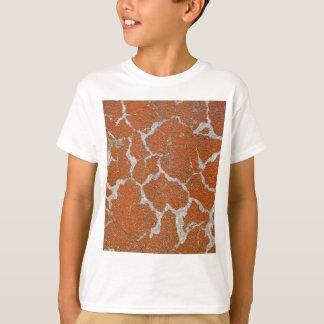 Camiseta Viejo color pelirrojo en el hormigón