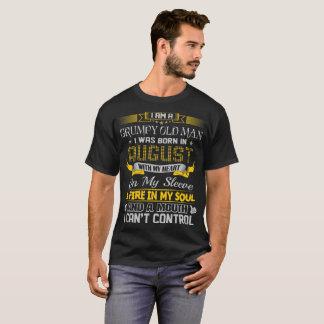 Camiseta Viejo hombre gruñón llevado en agosto con el