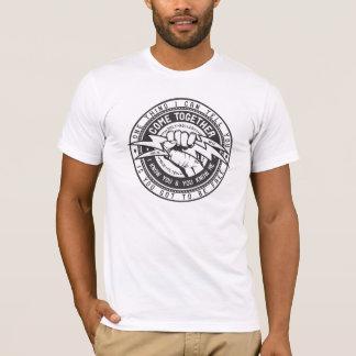Camiseta Viene junto el logotipo de la unión