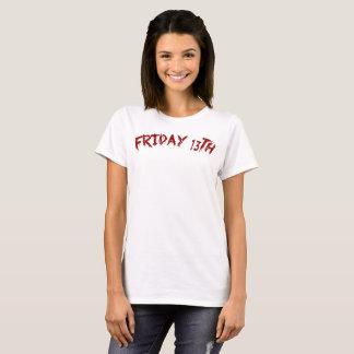 Camiseta Viernes 13 - el día más desafortunado