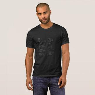 Camiseta VIM Cheatsheet
