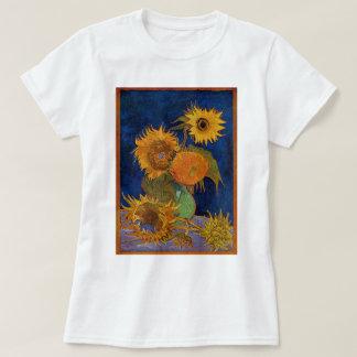 Camiseta Vincent van Gogh seis bellas arte de GalleryHD de
