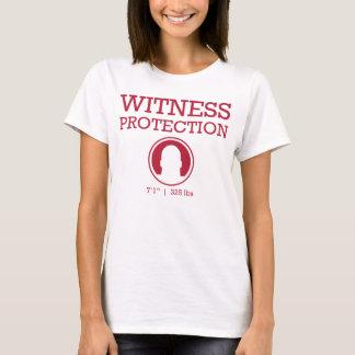 Camiseta Vino de la protección del testigo