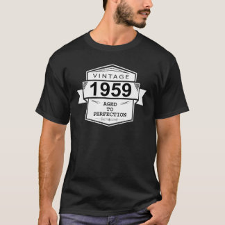Camiseta Vintage 1959 envejecido a la perfección.