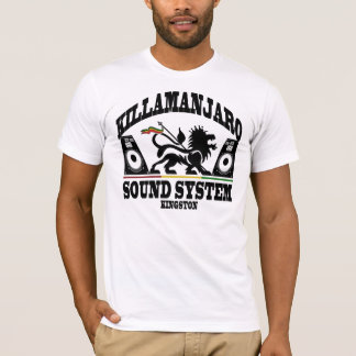 Camiseta Vintage de Kingston Jamaica del sistema de sonido