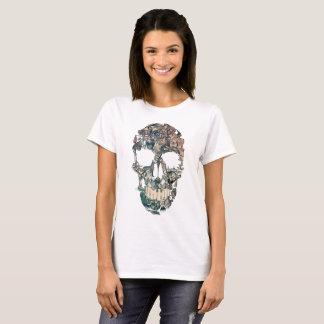 Camiseta Vintage del cráneo