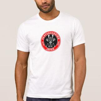 Camiseta Vintage del samurai de OG que anda en monopatín