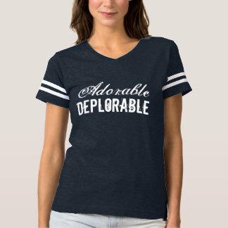 Camiseta Vintage deplorable adorable del partidario de
