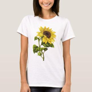 Camiseta Vintage - ilustracion del girasol