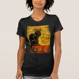 Camiseta Vintage Tournee du Chat Noir Black Cat Halloween
