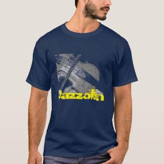 Camiseta Violín del jazz