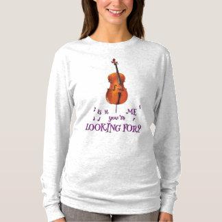 Camiseta ¿Violoncelo - es yo que usted está buscando?