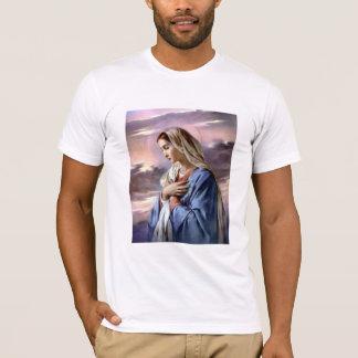 Camiseta Virgen María bendecido - madre de dios