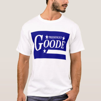 Camiseta Virgil Goode para presidente T-Shirt