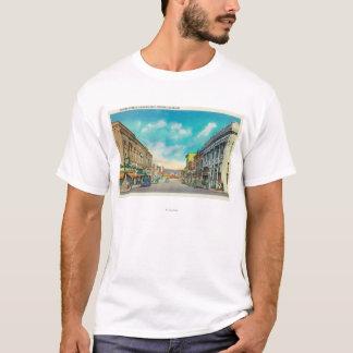 Camiseta Visión del este desde StreetPocatello de centro,