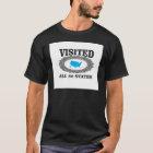 Camiseta visitó los 50 estados