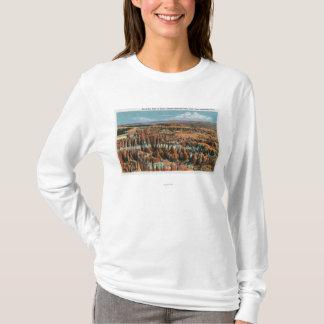 Camiseta Vista aérea del parque del punto de la inspiración