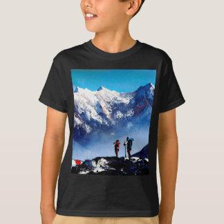 Camiseta Vista panorámica de la montaña máxima de Ama