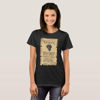 Camiseta Vistas del hombre lobo del peligro