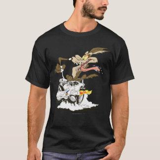 Camiseta Vistazo de E. Coyote Crazy del Wile