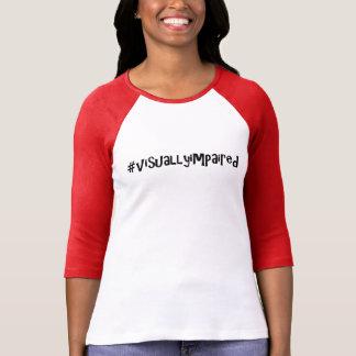 camiseta #visuallyimpaired por el DAL