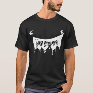 Camiseta Viva a la snowboard