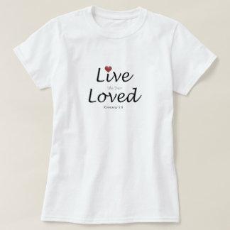 Camiseta Viva como su amado.  5:8 de los romanos