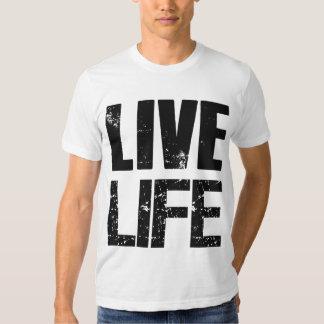 Camiseta viva de la vida