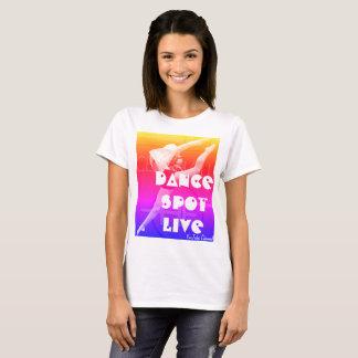 Camiseta viva de YouTube del punto de la danza