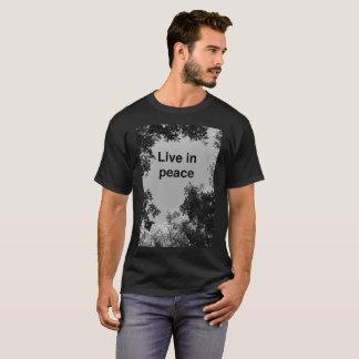 Camiseta viva en paz